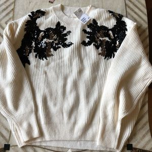 H&M Sequin Sweater, XL